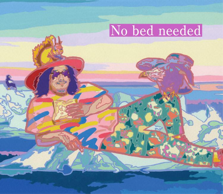 ベッドはいらない